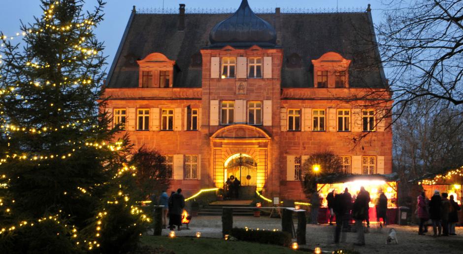 Wo Ist Heute Ein Weihnachtsmarkt.Gutsverwaltung Schloss Dürrenmungenau Weihnachtsmarkt